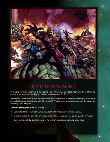 Screenshot for Trinity Continuum and Trinity Continuum: Æon Brochure