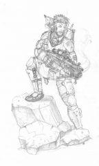 "FSA marine inspired by ""AE: Invasion"""