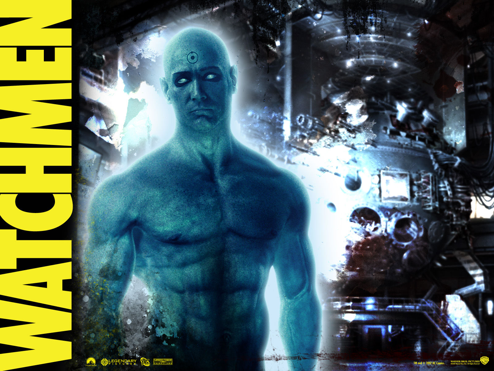 Dr. Manhattan Other images in post