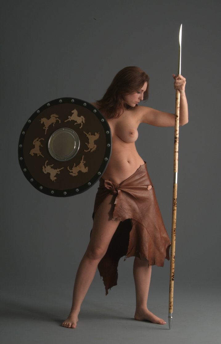 Naked barbarian warrior women exposed super babe