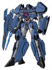 Aresenal Robot Mode Blue No Ms