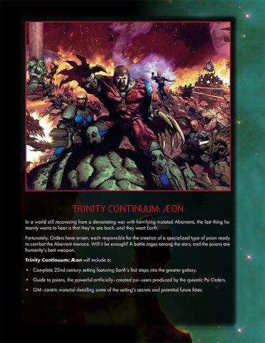 Trinity Continuum and Trinity Continuum: Æon Brochure