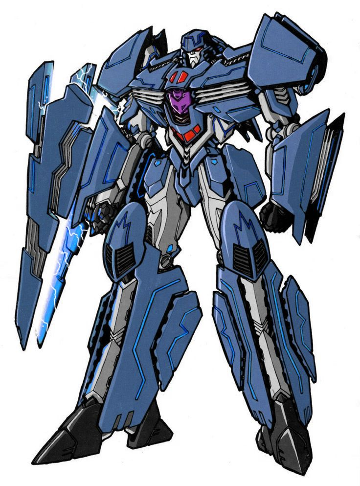 Aresenal Robot Mode Blue No Ms